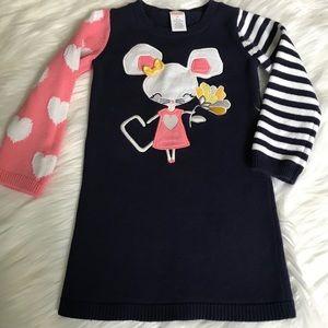 Sweater dress.   Gymboree, size 3T